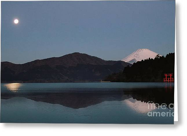 Greeting Card featuring the photograph Hakone Lake by John Swartz