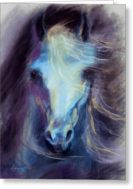 Halcyon Greeting Card by Kim McElroy