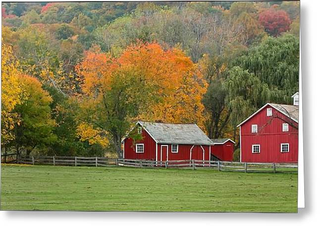 Hale Farm And Village Greeting Card by Daniel Behm