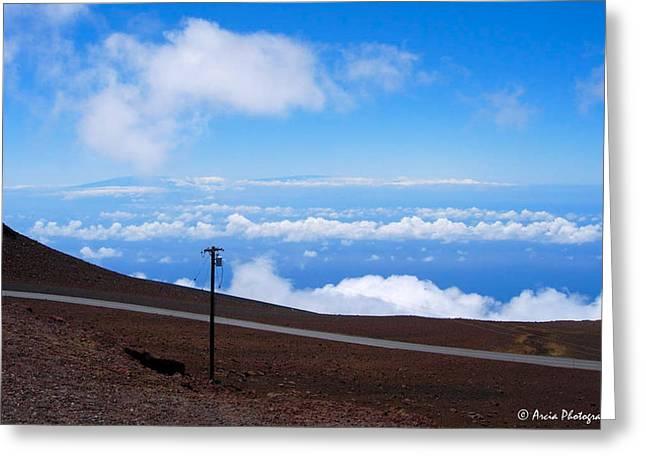 Haleakala's Heaven Greeting Card