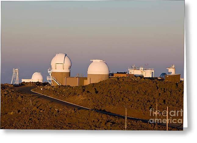 Haleakala Observatory, Hawaii Greeting Card