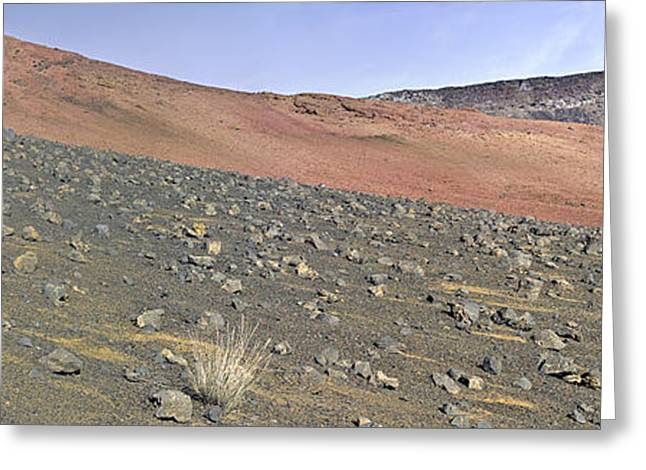 Haleakala Pano Two Greeting Card by Peter J Sucy