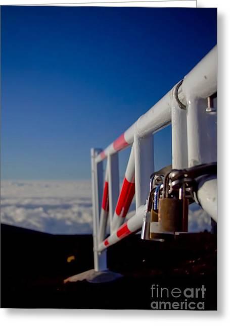 Haleakala Sunrise Skyline Trail Maui Hawaii Greeting Card