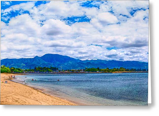 Haleiwa Beach Greeting Card