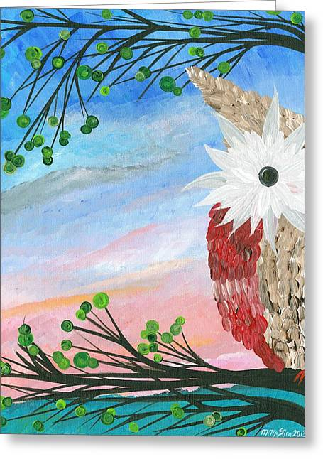 Half-a-hoot 03 Greeting Card