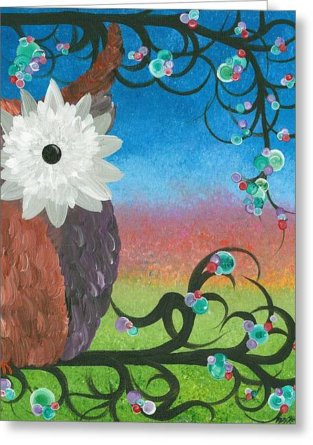 Half-a-hoot 04 Greeting Card