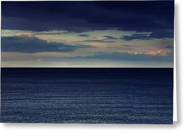 Half And Half Greeting Card by Stelios Kleanthous