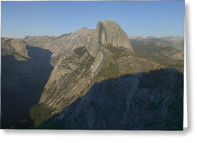 Half Dome Greeting Card by Gary Lobdell