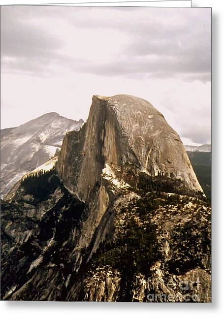 Half Dome Greeting Card by Kathleen Struckle