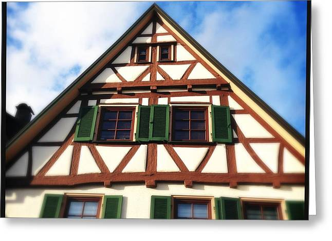 Half-timbered House 02 Greeting Card