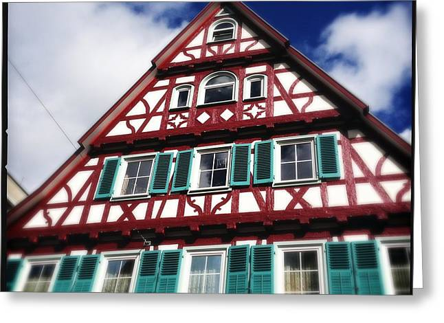 Half-timbered House 04 Greeting Card