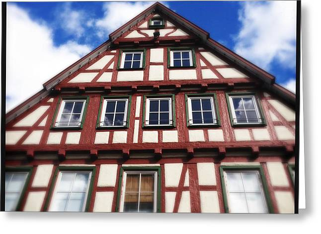 Half-timbered House 05 Greeting Card