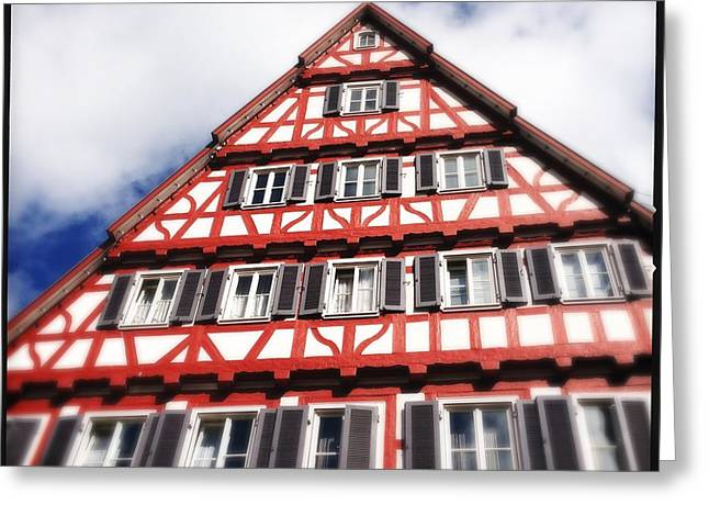 Half-timbered House 06 Greeting Card