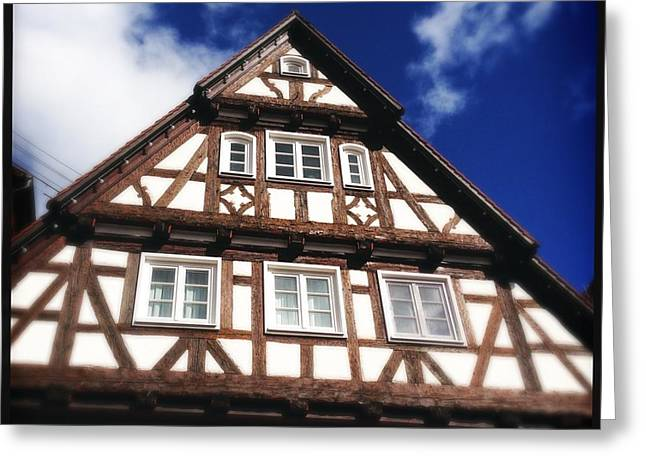 Half-timbered House 08 Greeting Card