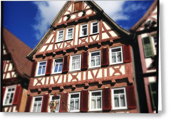 Half-timbered House 10 Greeting Card