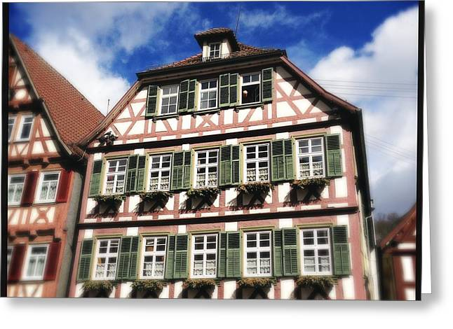 Half-timbered House 11 Greeting Card