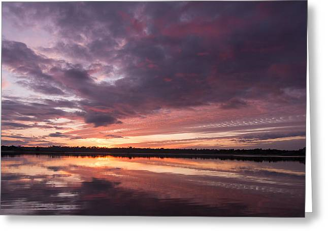 Halifax River Sunset Greeting Card