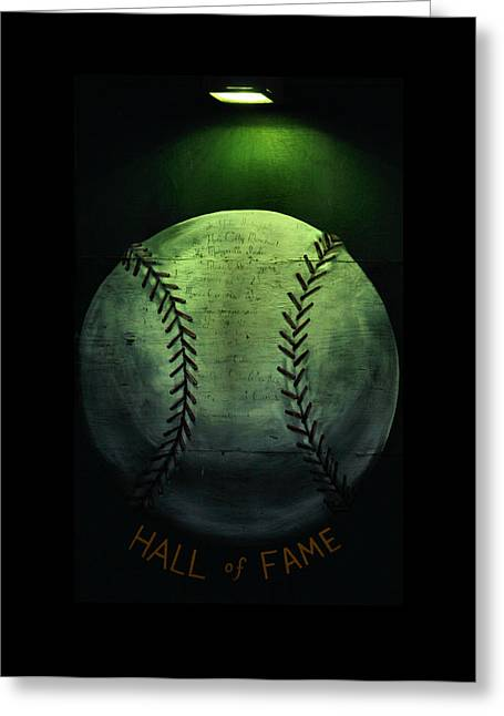 Hall Of Fame Greeting Card by Karen Scovill