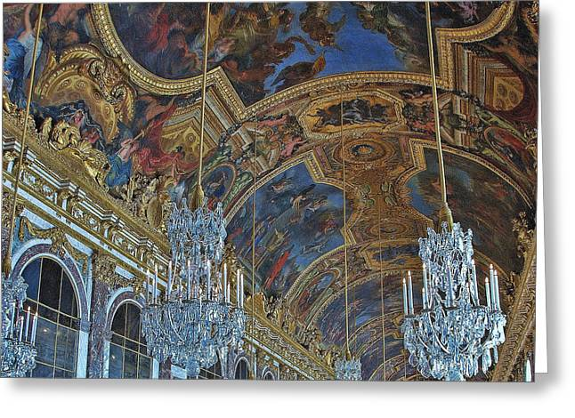 Hall Of Mirrors - Versaille Greeting Card