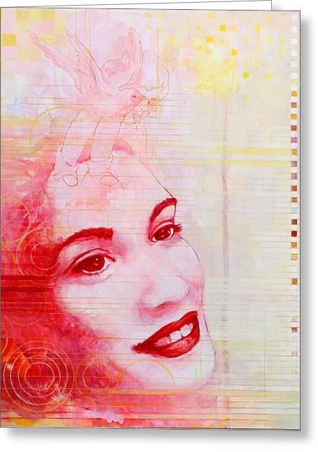 Hallelujah Greeting Card by Sandra Cohen
