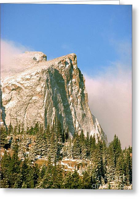 Hallet Peak Sunrise Greeting Card