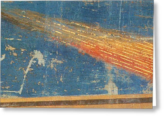 Halleys Comet, 1301 Greeting Card