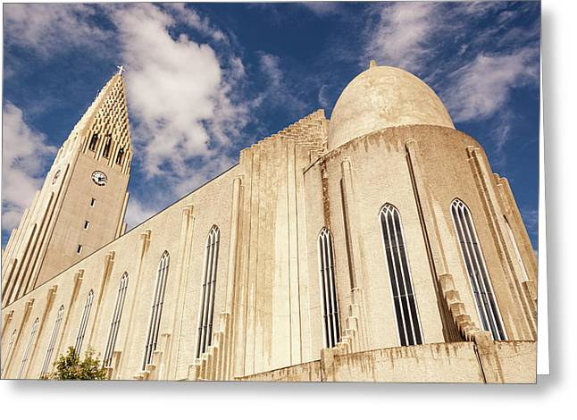 Hallgrimskirkja Church, Reykjavik Greeting Card