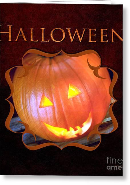 Halloween Gallery Greeting Card by Iris Richardson