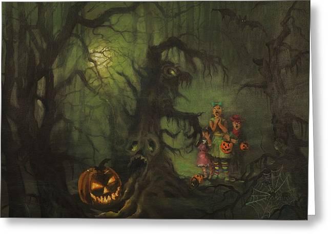Halloween Shortcut Greeting Card