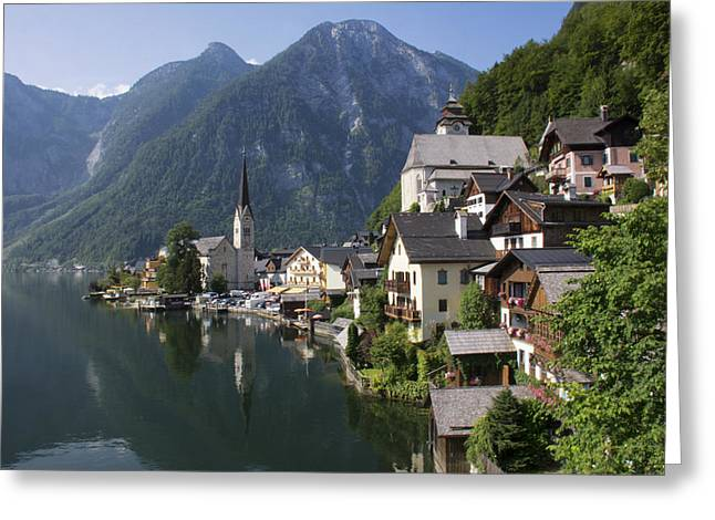 Hallstatt 1 Greeting Card by Wade Aiken