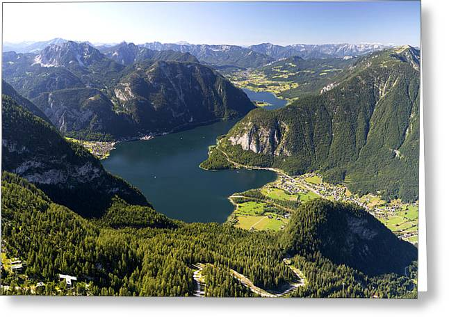 Hallstatt Lake Austria Greeting Card