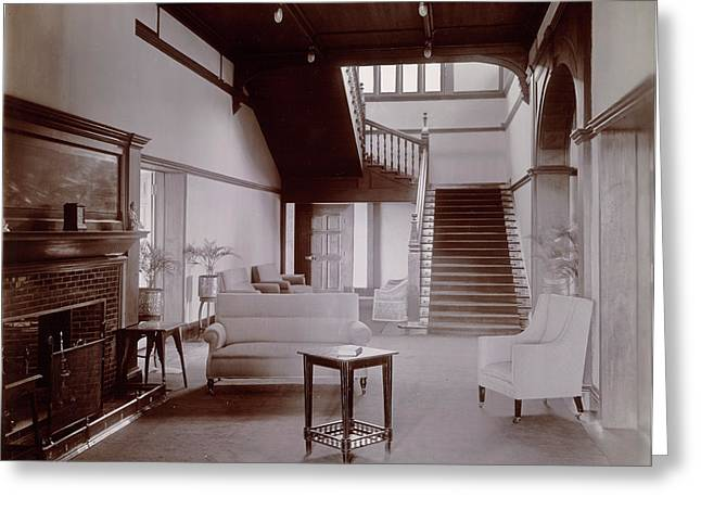 Hallway And Stairs Greeting Card