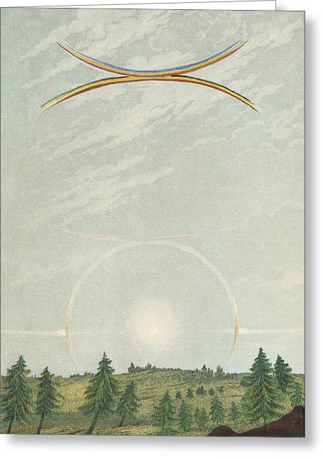 Halo Greeting Card by King's College London