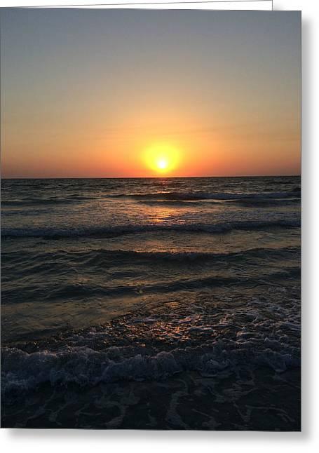 Halo Sun At Indian Rocks Beach Greeting Card