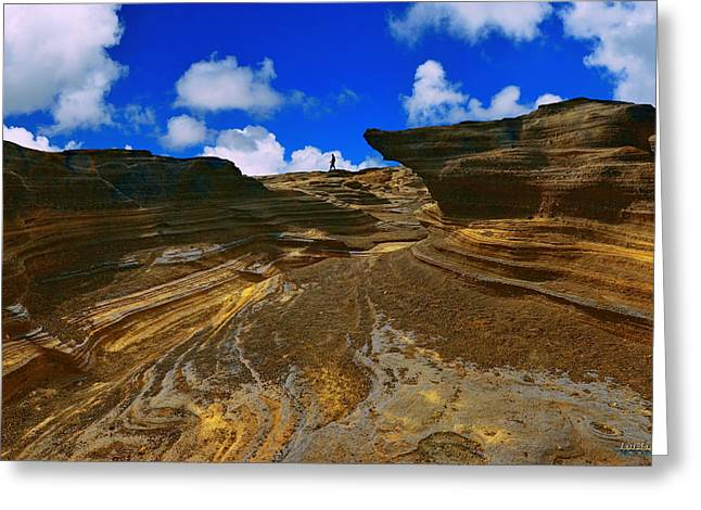 Greeting Card featuring the photograph Halona Rocks by Aloha Art
