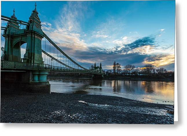 Hammersmith Bridge Greeting Card