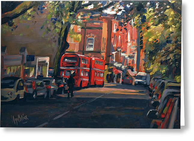 Hampstead High Street London Greeting Card