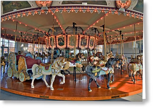 Hampton Carousel 2 Greeting Card