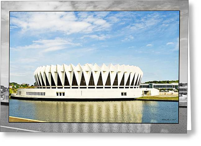 Hampton Coliseum Greeting Card