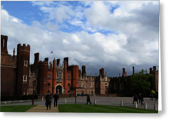 Hampton Court Greeting Card by Jenny Armitage