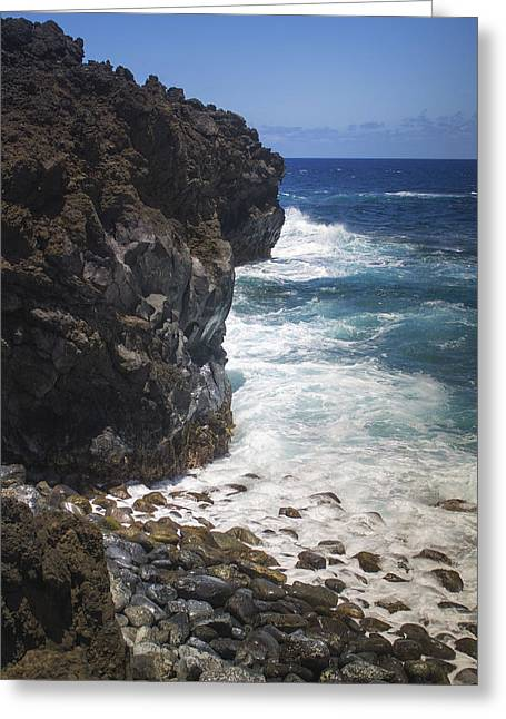 Hana Coastline 1 Greeting Card