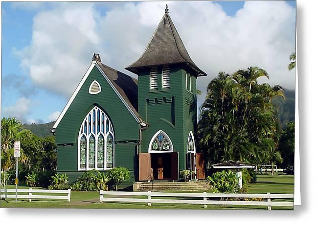 Hanalei Church Greeting Card