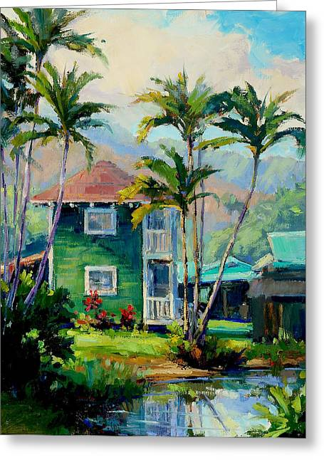 Hanalei House Greeting Card