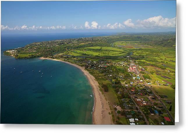 Hanalei, Kauai, Hawaii Greeting Card by Douglas Peebles