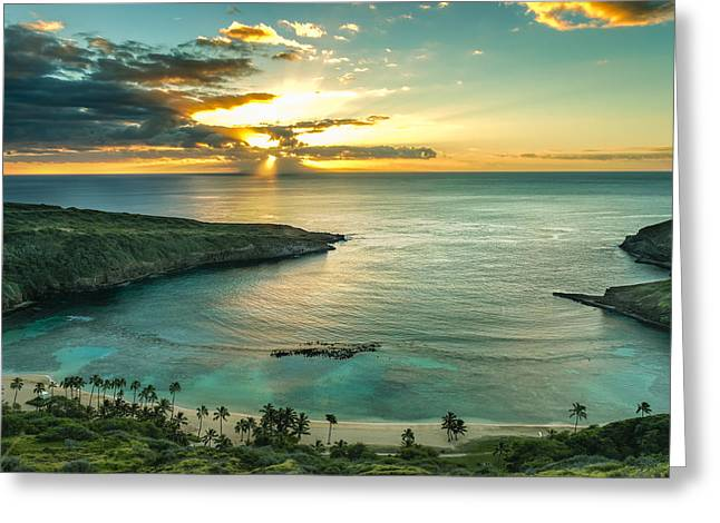 Hanauma Bay 1 Greeting Card