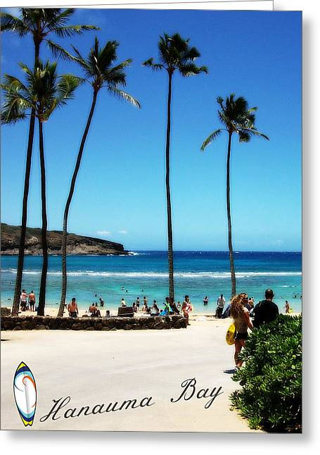 Greeting Card featuring the photograph Hanauma Bay by Mindy Bench