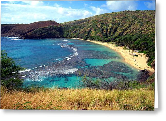 Hanauma Bay Greeting Card