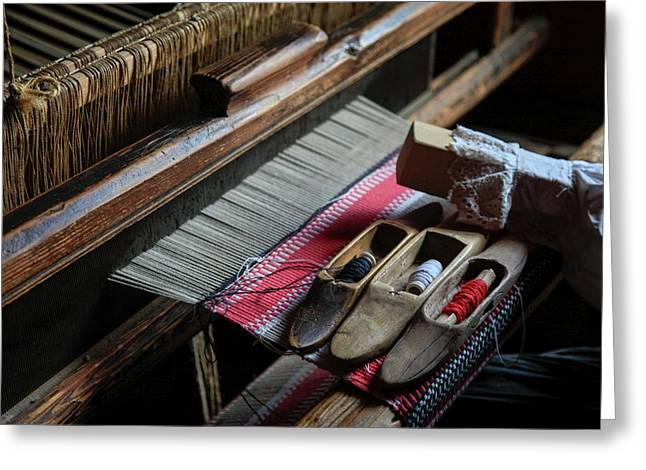 Hand Loom Greeting Card by Photostock-israel
