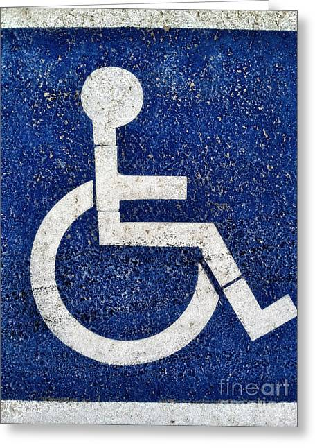 Handicapped Symbol Greeting Card