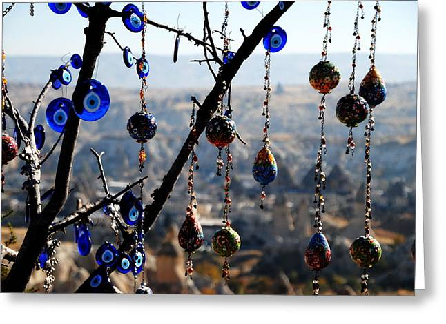 Handicrafts In Cappadocia Greeting Card by Jacqueline M Lewis